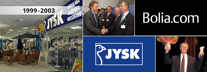 JYSK history from 199-2003